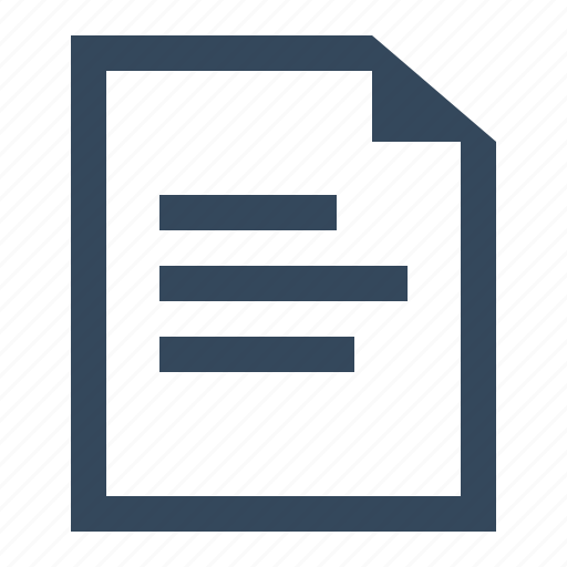 document, file, text document, text file icon