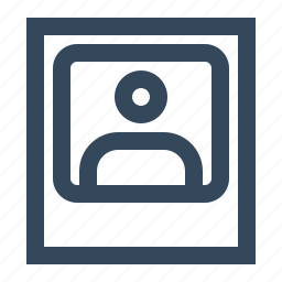 avatar, photo, picture, profile photo, user, user photo icon