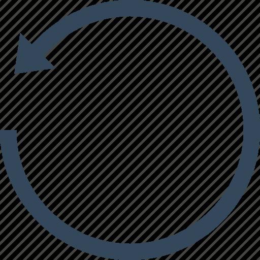 recycle, refresh, reload, restart, restore, reverse, update icon
