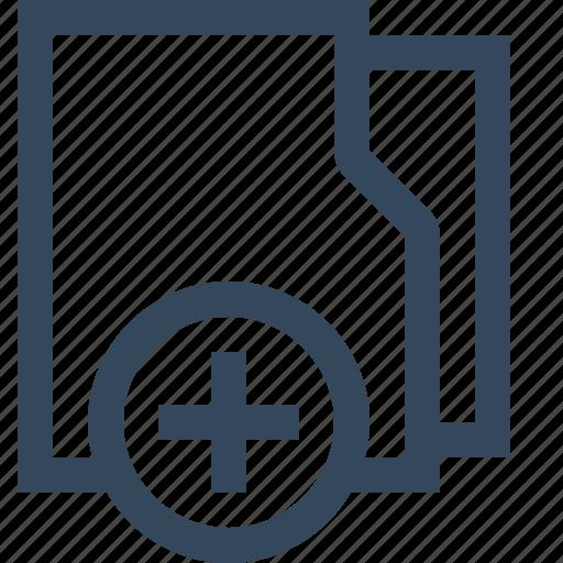 add folder, directory, folder, folder plus, new folder, newfolder, newproject icon