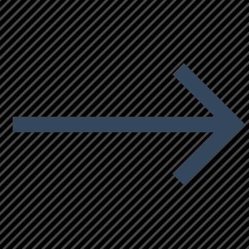 arrow, direction, move, right, right arrow icon