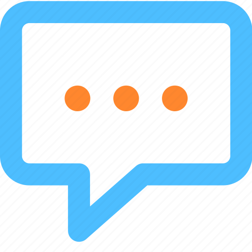 chat, comment, conversation, message, say, talk, text icon