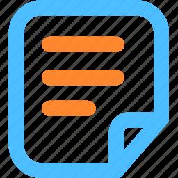 data, file, files, folder, format, information, sheet icon