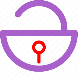 key, lock, locked, padlock, password, privacy, security icon