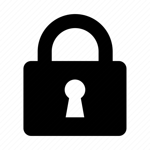 controls, encrypted, interface, lock, protected, secure icon