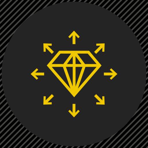 best, diamond, gemstone, jewel, luxury, premium, rating icon