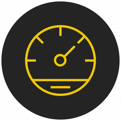dashboard, device, indicator, pressure guage, speed test, speedometer, widget icon