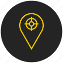 gps, locate, location map, location marker, location pin, location tracker, place icon