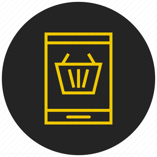 add product, buy products, checkout, groceries, retail, shopping basket, shopping cart icon