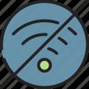 access, internet, no, online, ui development, wifi icon