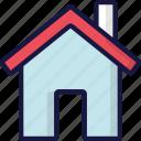 building, essentials, home, house, ui development icon