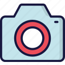 camera, footage, photography, photos, ui development icon