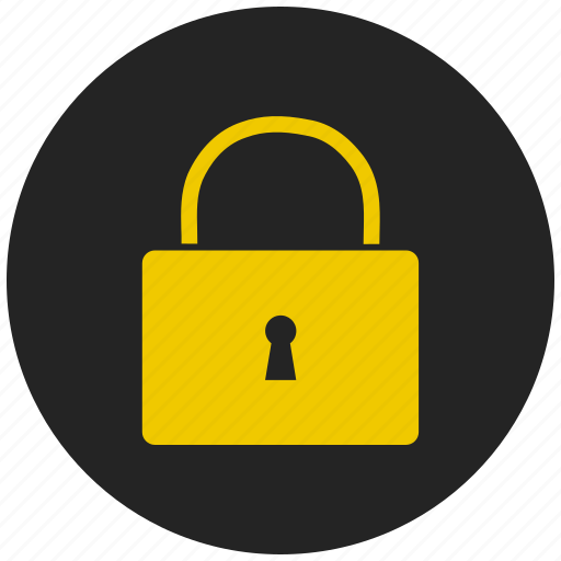 lock, protected house, protected property, safe, safety, secured house, secured property icon
