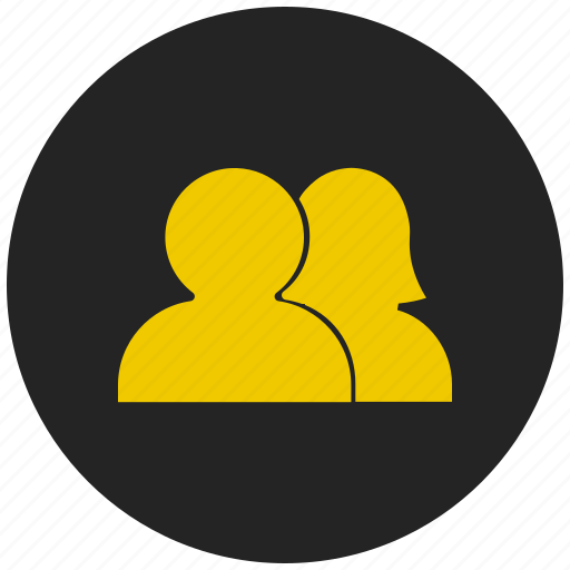 couple, family, gender, life partner, male female, pair, people icon