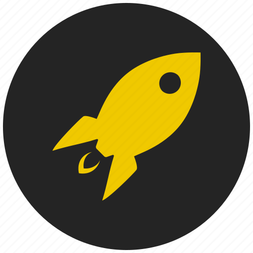 astronomy, fast upload, jet, mission, rocket, rocket science, spacecraft icon