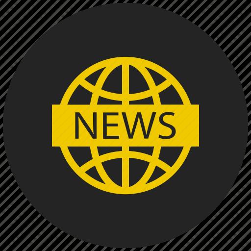 global news, media, news, news channel, news website, sports news, world news icon