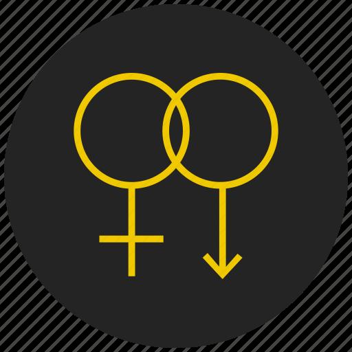female sign, gender symbol, sex symbol, venus symbol, woman restroom sign icon