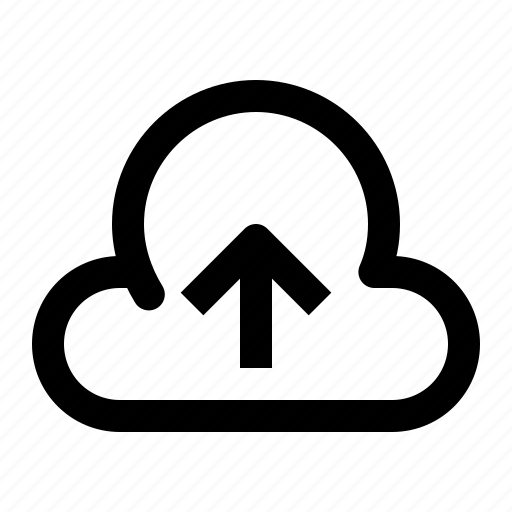 arrow, cloud, save, storage, ui, up, upload icon