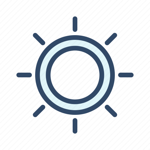 brightness, communication, contrast, sun icon