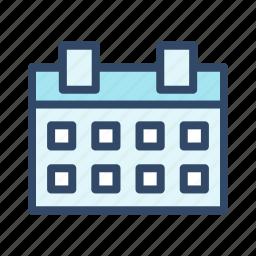 calendar, calender, communication icon
