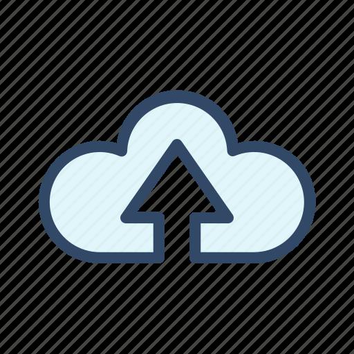 cloud, communication, computing, download, upload icon