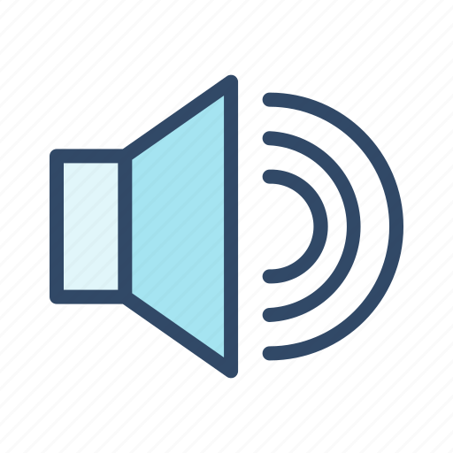 communication, music, sound, speaker icon