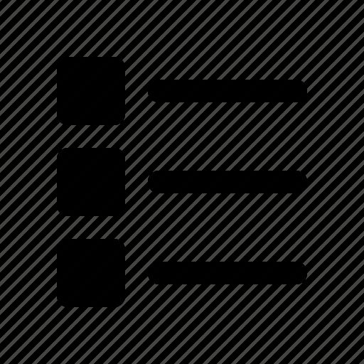 checklist, document, file, list, page icon