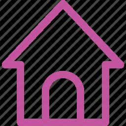 home, thinicons, ui1 icon