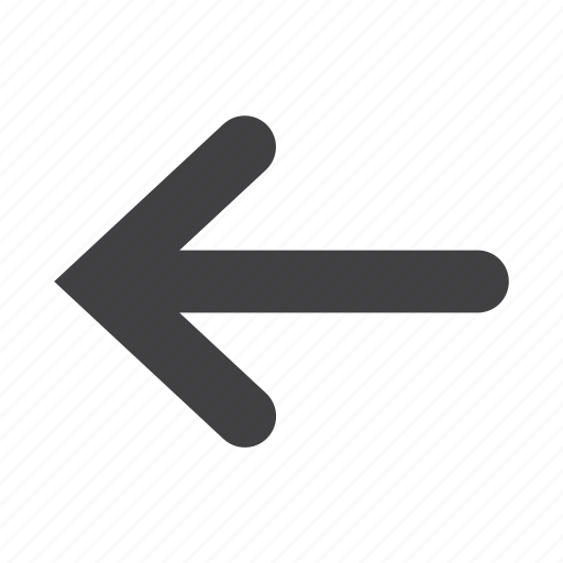 arrow, back, direction, left, pointer, previous icon