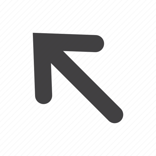 arrow, click, direction, left, pointer, up icon
