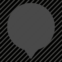 bubble, chat bubble, indication, map bubble, marker, message icon