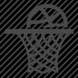 basketball, court, entertainment, game, play, play ground, stadium icon