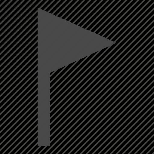 destination, flag, indication, location, marker, place, success icon