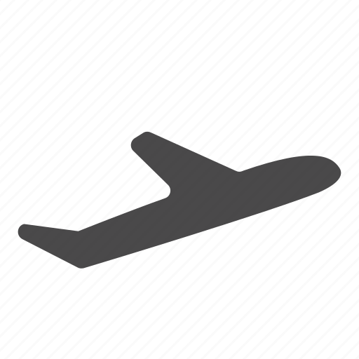 aeroplane, aircraft, airport, departing, flight, travel icon