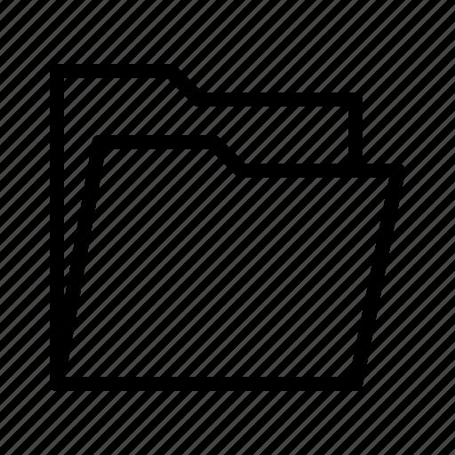 folder, interface, ui icon