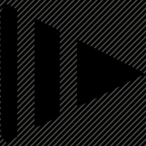 audio, media, music, slow, speed icon