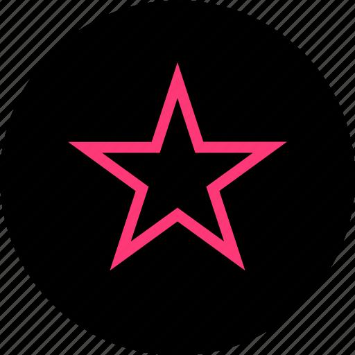 bookmark, burst, favorite icon