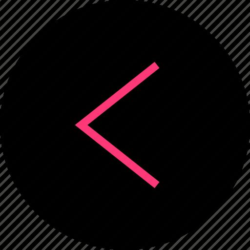 menu, navigation, previous icon