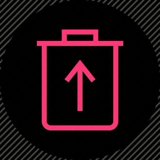 document, files, restore icon