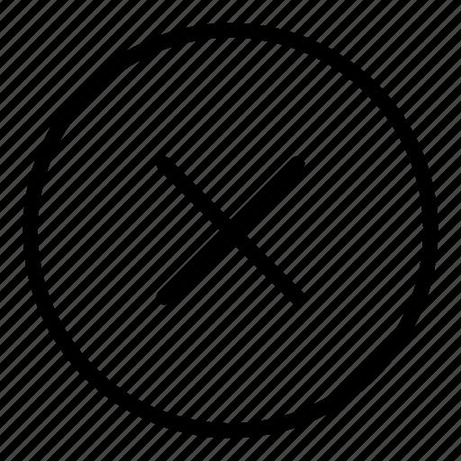 basic app, close, cross, delete, interface, ui icon