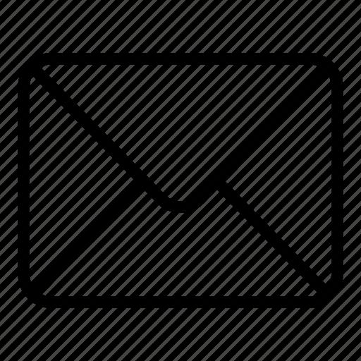 close envelope, email, envelope, mail, message, web icon