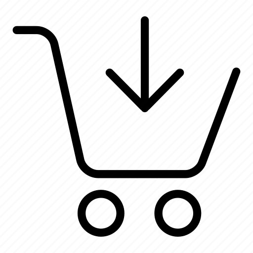 add, basket, buy, cart, commerce, interface, shopping basket icon
