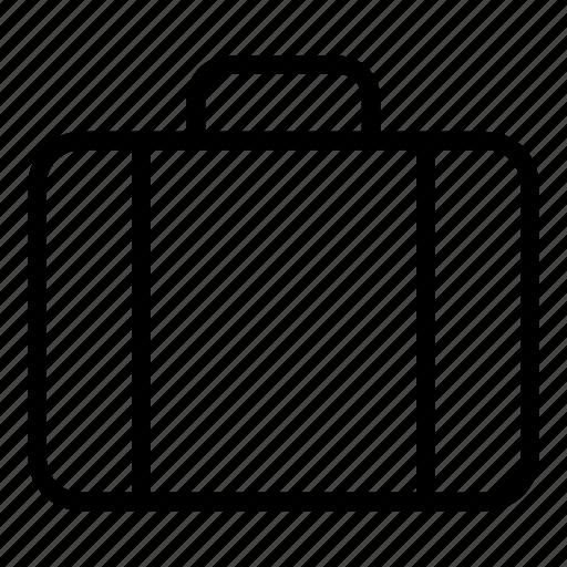 briefcase, case, documents, office case, storage icon