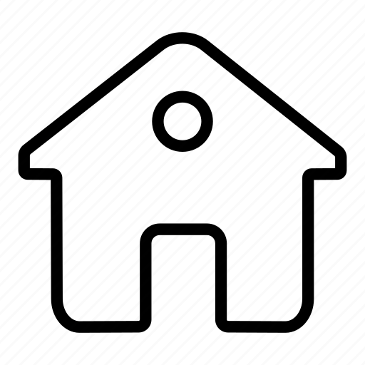 building, home, house, internet, page icon