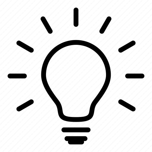 idea, illumination, light bulbs, lightbulb, technology icon