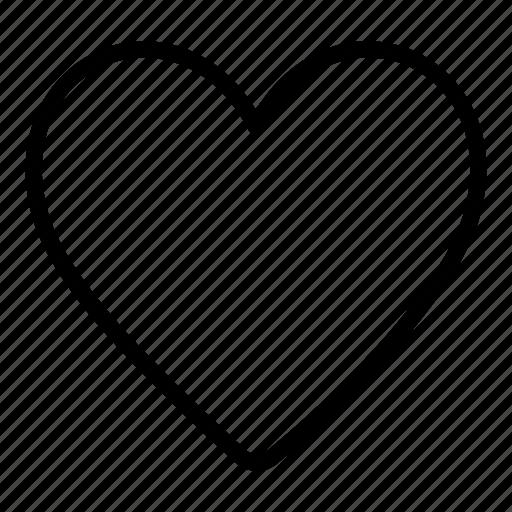 bookmark, favorite, favourite, heart, interface, love icon