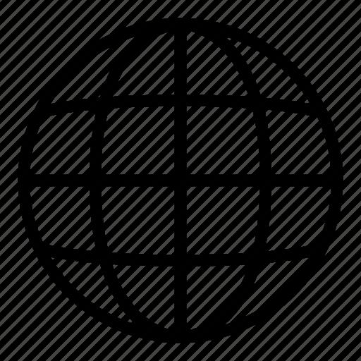 earth, earth globe, earth grid, grid world, planet, planet earth, web icon
