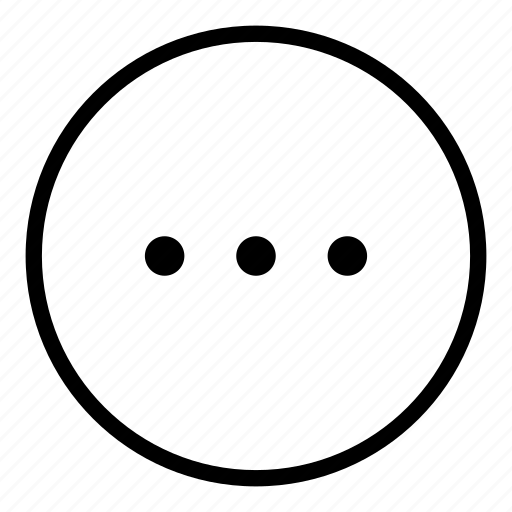 app, circle, circular, menu, options, setup icon