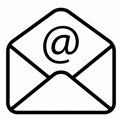 communication, email, envelope, mail, message, opened icon