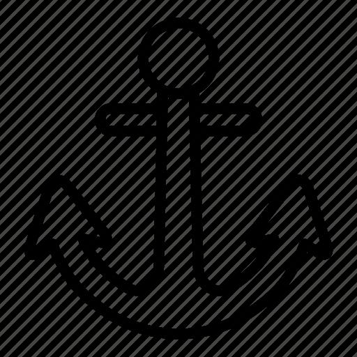 anchor, navigation, navigational, programming, web icon